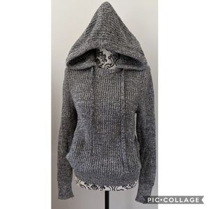 Victoria's Secret Chunky Knit Hoodie Sweater Small